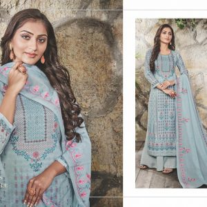 indian cotton mull with embroidery work salwar kameez