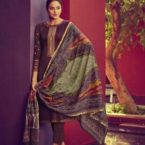 Indian Lawn Jamdani Salwar Kameez