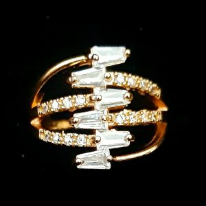 Zigzag Ring golden