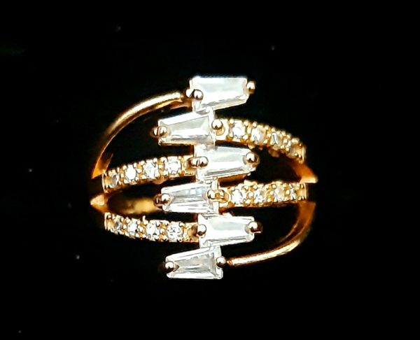 Zigzag Ring golden