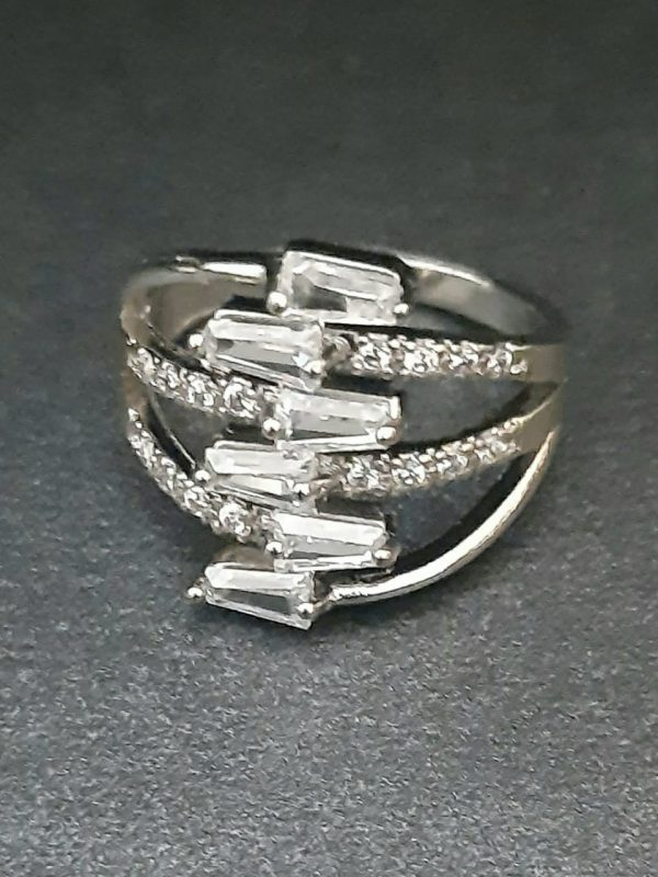 Zigzag Ring silver