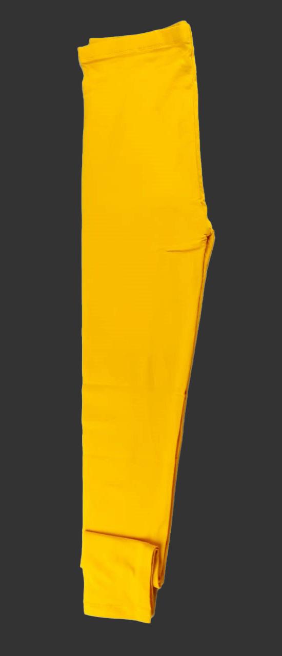 Leggings For Girls LTLE-12(Yellow)