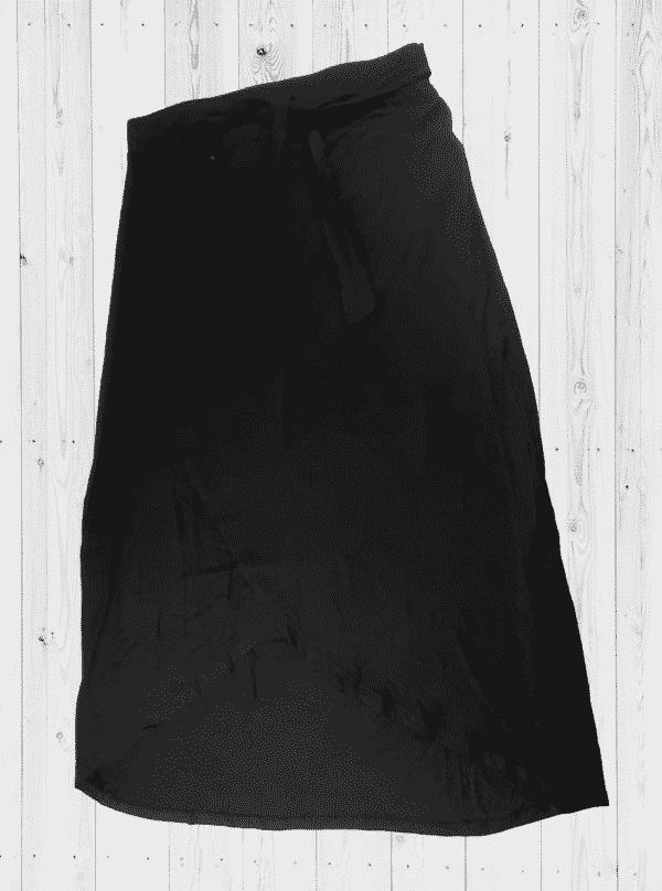 Viscose Skirt-LTSKT-1Black