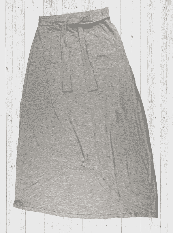 Viscose Skirt-LTSKT-2 Ash