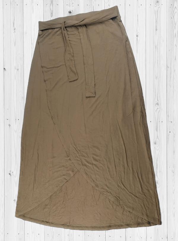 Viscose Skirt-LTSKT-4 Olive