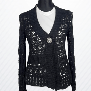 Woman Sweater with Button