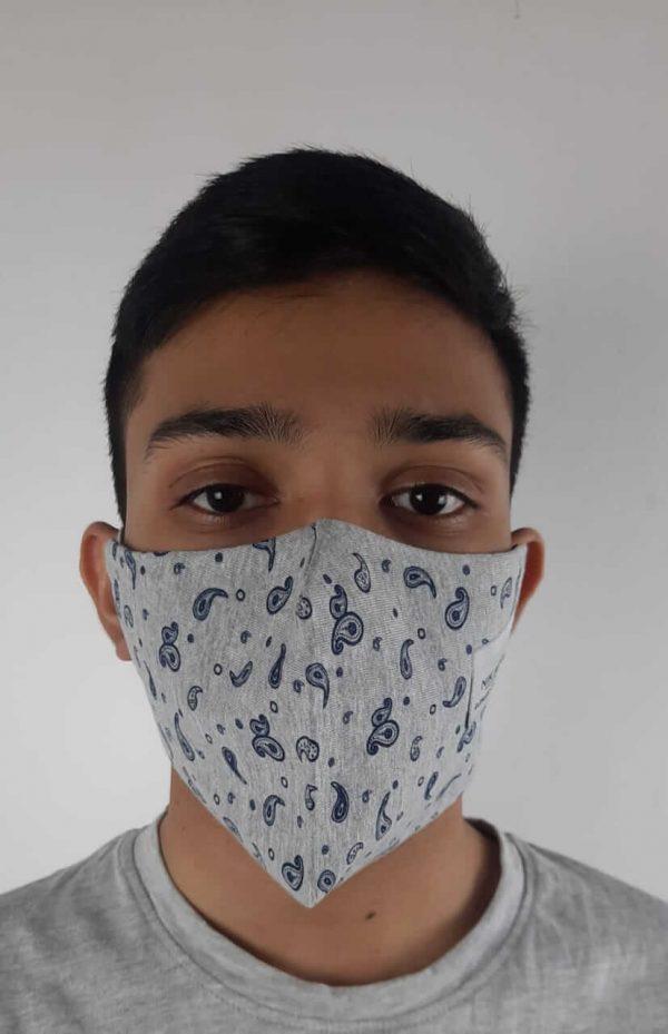 Light Gray Face Mask