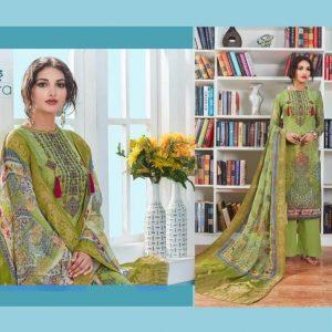 Aanzara Georgette Printed Salwar Kameez -05