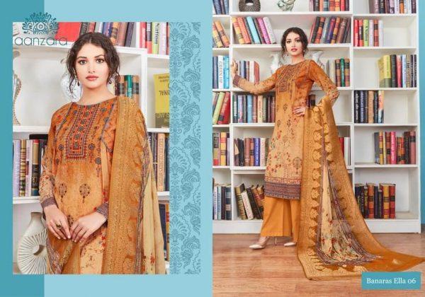 Aanzara Georgette Printed Salwar Kameez -06