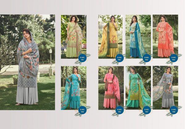 VANSHIKA BY HANSA COTTON PRINTED SUIT CATALOG All Dresses